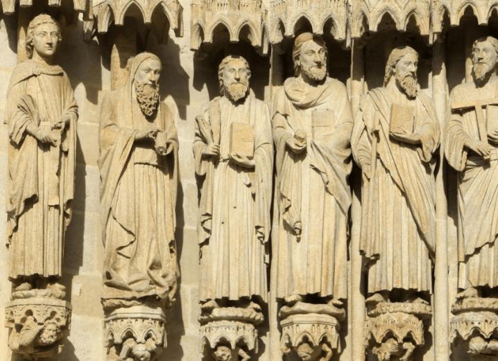 Qui sont les quatre évangélistes ?