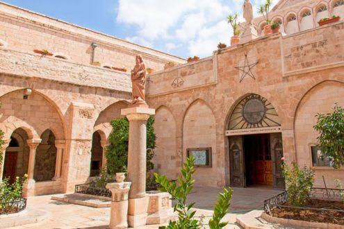 Découverte inédite dans l'église de la Nativité à Bethléem