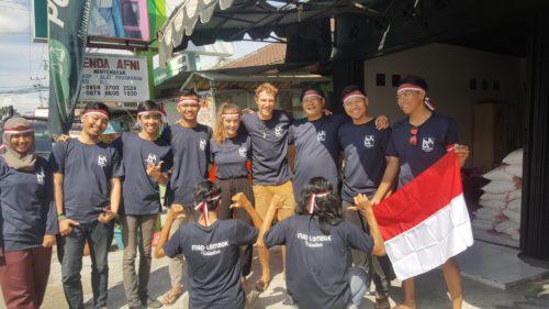 Indonésie : deux Annéciens viennent en aide aux victimes