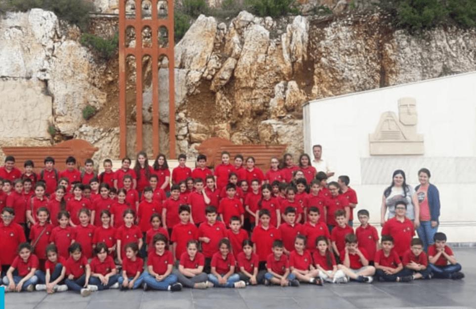 Une école protestante, au Levant