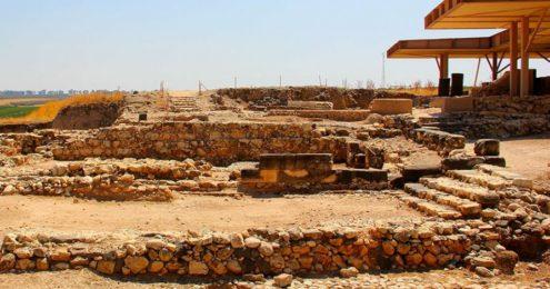 Un escalier vieux de 3500 ans découvert