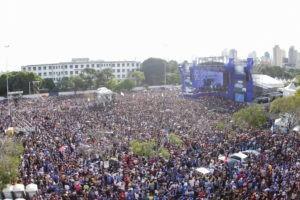 La marche pour Jésus au Brésil est un succès