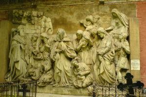 La rencontre entre Abram et Melkisédeq