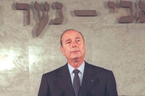 Jacques Chirac, un homme de convictions