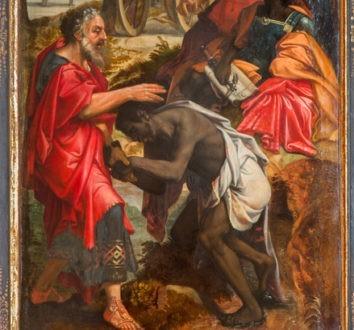 L'eunuque éthiopiens adopte la foi en Jésus