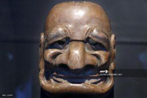 Chirac et le masque