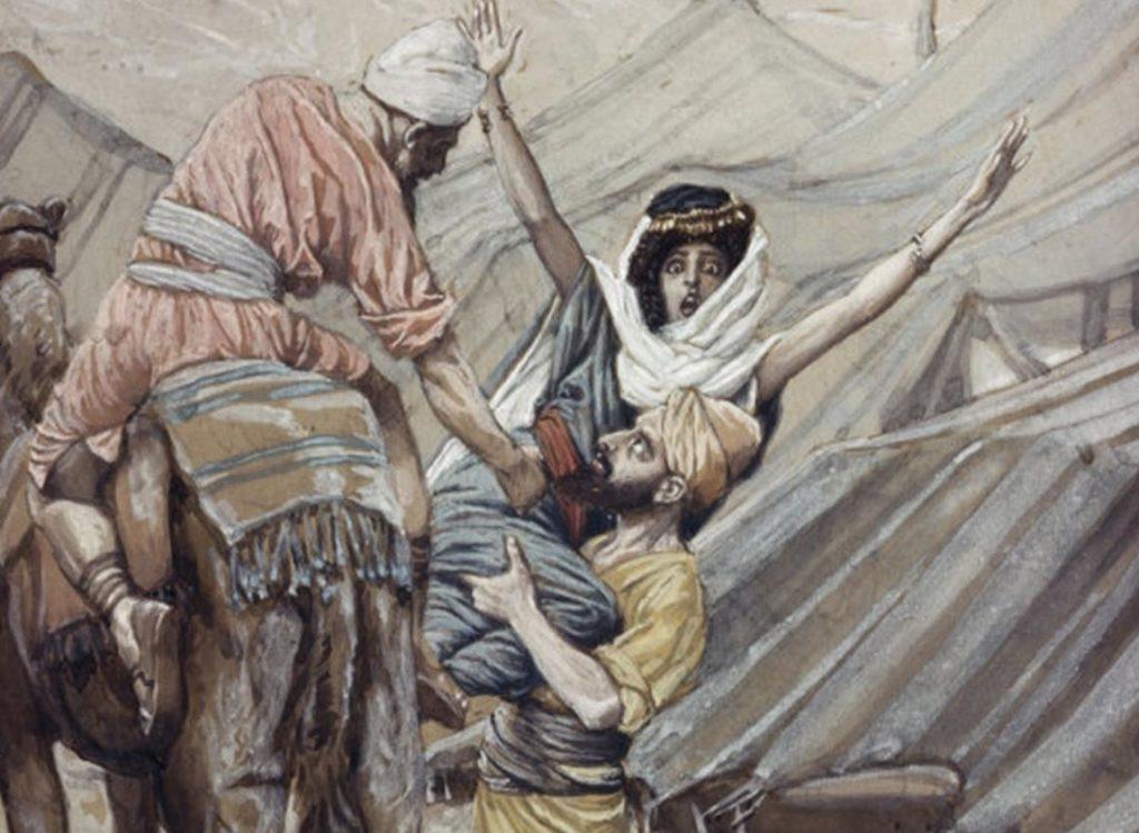 L'enlèvement de Dinah Dina Bible