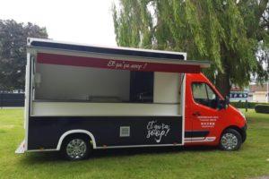 Un food truck pour les sans-abri