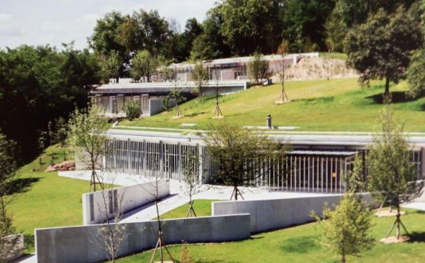 Le monastère de Renzo Piano à Ronchamp (2006-2011)