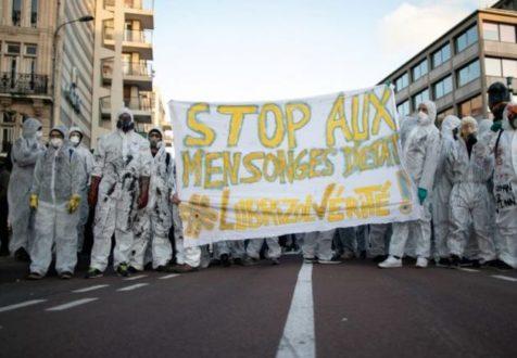 Rouen, 15 jours après l'incendie de l'usine