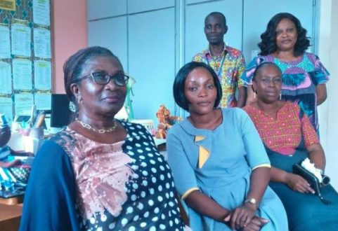 Le pensionnat d'Anyama, près d'Abidjan