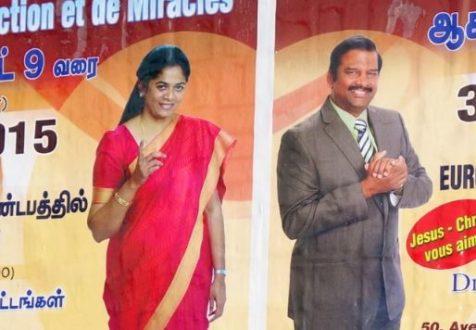 Les églises évangéliques tamoules en France