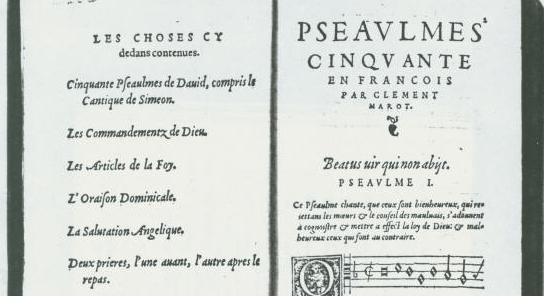 Du psautier protestant à la poésie scientifique et apocalyptique