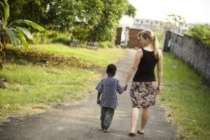 Parrainer un enfant en famille