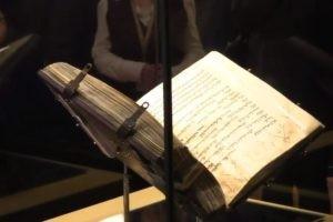 L'une des plus anciennes bibles hébraïques manuscrites exposée