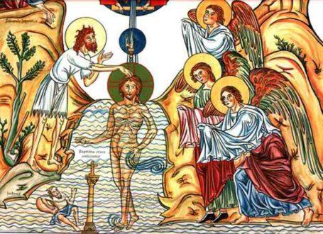 Le baptême de Jésus