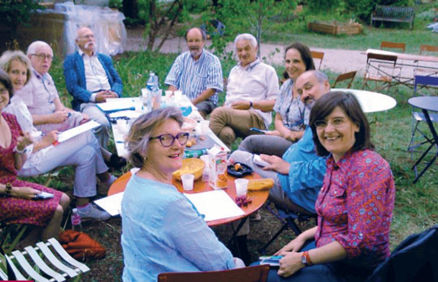 Le Jury du Prix de Cinéma de l'Auditoire (DR)