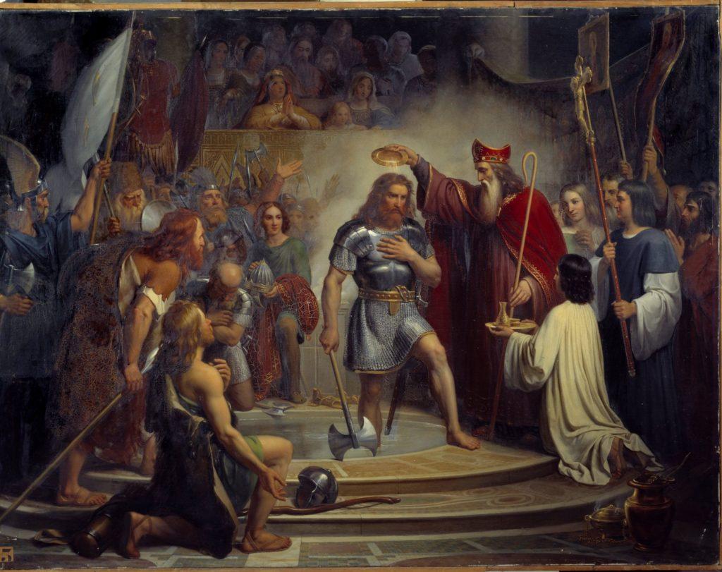 Le baptême de Clovis