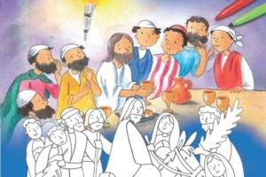 Coloriage Bible enfant