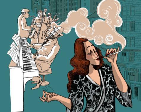 La baronne du Jazz Editions Steinkis
