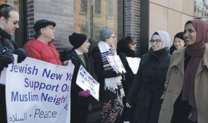 Les juifs américains résistent à Donald Trump © Congrégation Beit Simchat Torah
