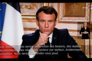 """Emmanuel Macron : """"Nous sommes en guerre sanitaire"""""""