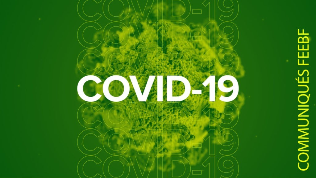 Covid-19 : message de la Fédération baptiste
