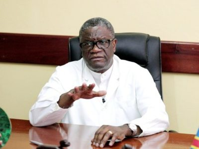 Le Dr Denis Mukwege appelle à la mobilisation collective
