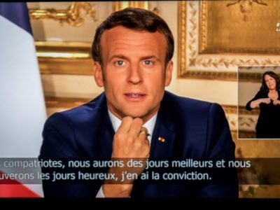 Emmanuel Macron : un discours teinté d'espoir