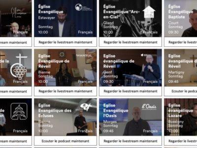 Suisse : Un site pour trouver un culte en direct