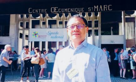 Le pasteur Nomenjanahary au Synode national EPUdF 2019 à Grenoble