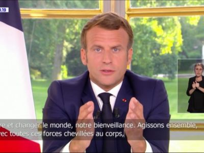 Emmanuel Macron : priorité absolue à la production