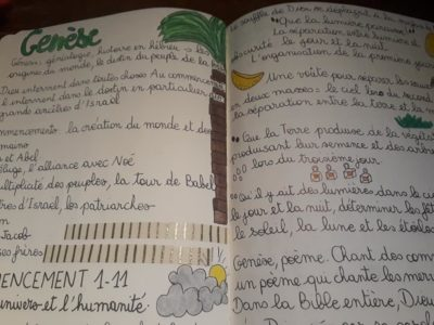 Dévorer l'Ancien Testament grâce au Bible journaling