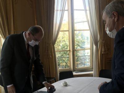 Le président de la Fédération protestante de France reçu par le Premier ministre