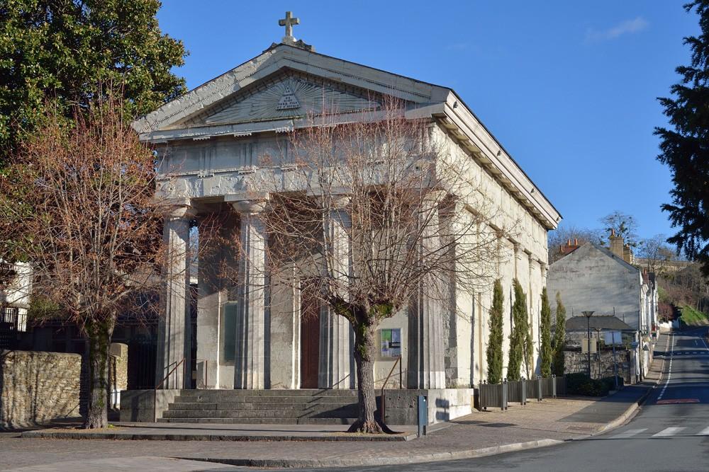 Le temple de Saumur, sélectionné par la Mission Bern