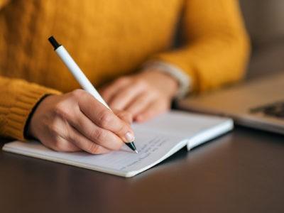Les bienfaits de l'écriture manuscrite