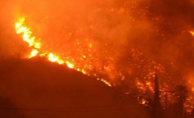 Incendies dans l'ouest des États-Unis