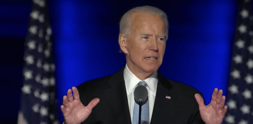 Joe Biden appelle à la paix et à l'unité