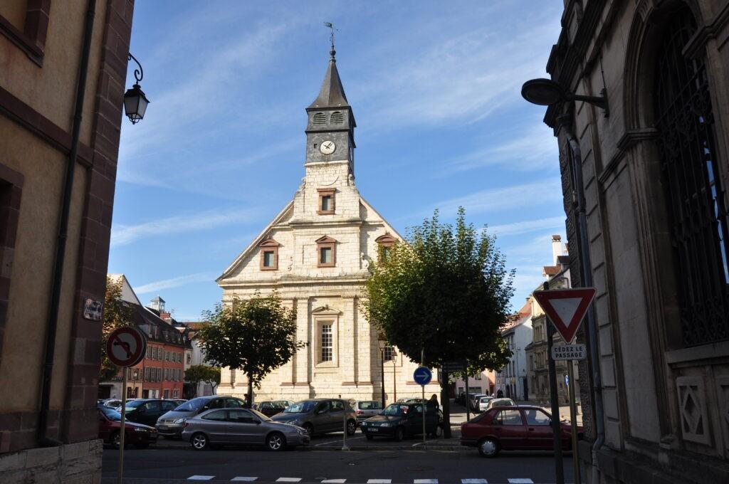 Lifting pour le lumineux temple Saint-Martin de Montbéliard