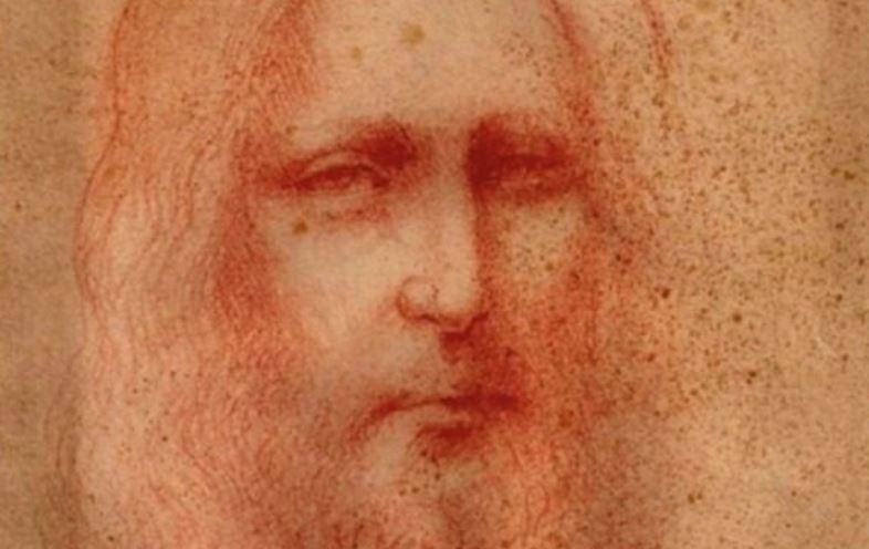 Un portrait de Jésus-Christ signé Léonard De Vinci ?