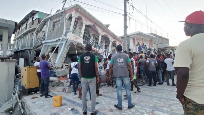 Haïti : aider après le séisme
