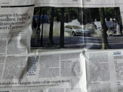 Souvenir des attentats de Paris