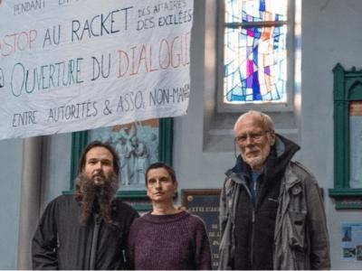 Migrants Calais Grève de la faim
