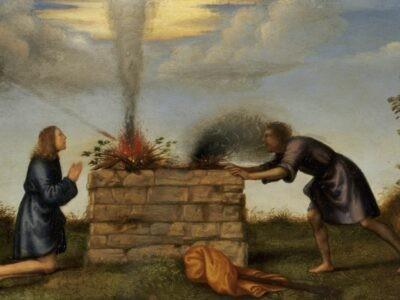 Le sacrifice d'Abel et l'offrande de Caïn
